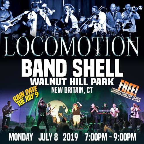 locomotion at walnut hill park band shell new britain ct july 8 2019